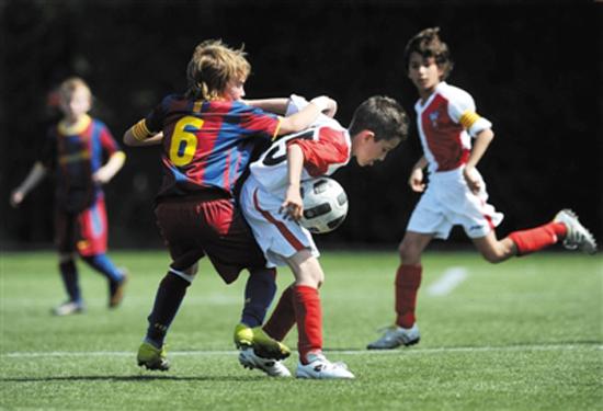 双方共建青岛黄海巴萨国际足球学校
