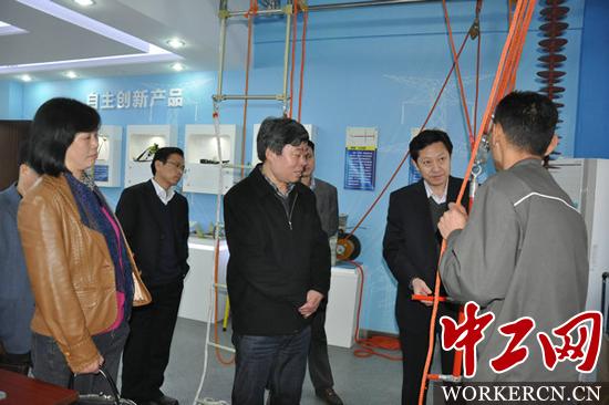 考察组先后前往中航工业合肥江航飞机装备有限公司