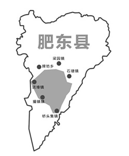 肥东县2030规划图